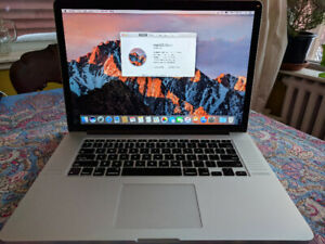 MacBook Pro (Retina, 15-inch) 2.8 GHz i7, 16 GB, 1 TB SSD 2014