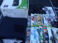 Xbox 360 slim console complete with 15 games - £95