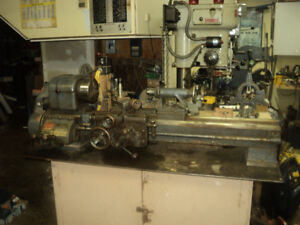 "Logan Lathe 9"" X 30"" on sturdy steel stand"