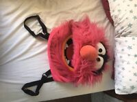 Animal muppets backpack