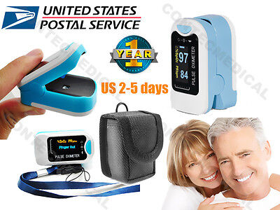 Us Oled Finger Fingertip Pulse Oximeter Spo2 Blood Oxygen Heart Rate Monitornew