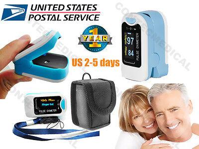 Us Oled Finger Fingertip Pulse Oximeter Spo2 Blood Oxygen Heart Rate Monitornew