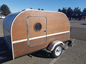 Wooden Trailer- One of a Kind!
