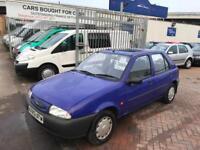 1996 Ford Fiesta 1.25 CVT LX AUTOMATIC VERY LOW MILES CAR FUTURE POSS CLASSIC