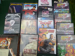 NEW PRICE/NEW STUFF! ON LINE SALE- DVD's, PS1 system & games.