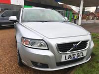 2010 Volvo V50 1.6D ( s/s DRIVe SE 11 Volvo stamps 2 keys Full Mot last sev 100k