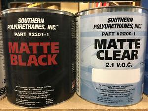 MATTE BLACK & MATTE CLEARCOAT @ Brown's Auto Supply