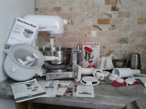 Kitchen Aid Stand Mixer & Accessories  450 watt
