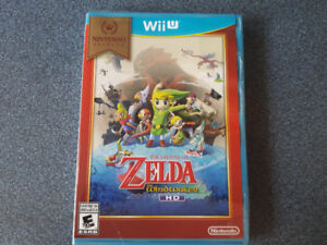 wii u game-Legend of Zelda: the windwaker (used)