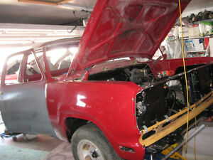 Mopar 78 Dodge Lil Red Express (dealer issued clone) with 440