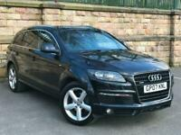 2007 Black Audi Q7 3.0TDI Tiptronic quattro S Line - P/X - FINANCE FROM £52 P/W for sale  Blackburn, Lancashire