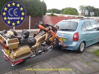 MOTORCYCLE TRAILER BIKE CARRIER NEW IN EUROPE/TRIKE/SCOOTER