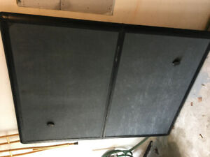 Hard folding tonneau cover. Fits 6x4ft bed
