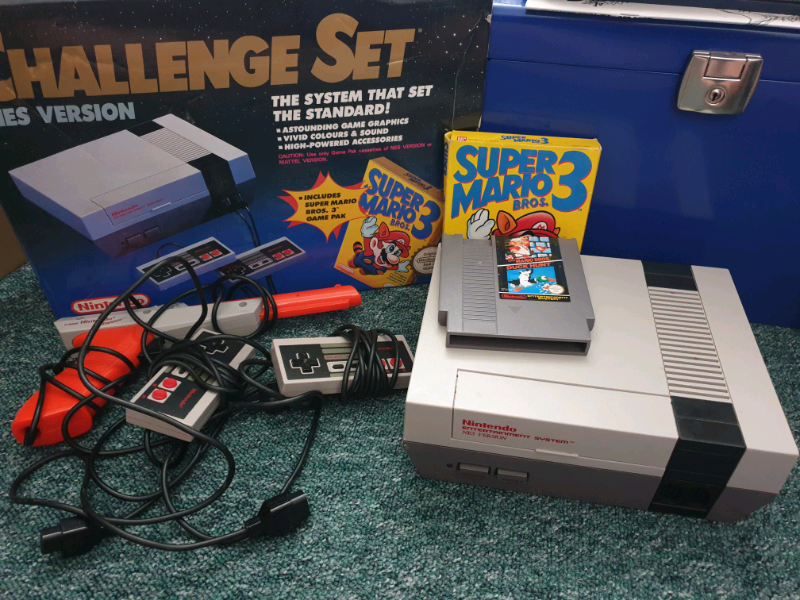 Nintendo NES original console with Super Mario 3 | in Linthouse, Glasgow |  Gumtree