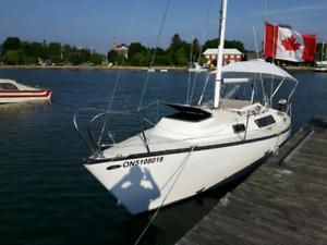 Seidelmann 24 ft trailerable Sailboat