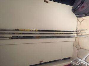 All Top-line hockey sticks 70-150$