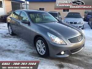 2011 INFINITI G37 G37X...MINT ...ONE OWNER...NO ACCIDENTS!!!  GR