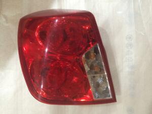 Lumières arrières Chevrolet Optra 4 portes Sedan 2004-2007