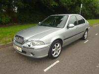Rover 45 1.8i CVT Impression S automatic 2003/52 leather seats aircon alloys