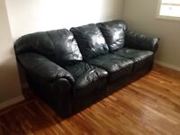 Leather couch for sale