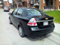 2007 Chevrolet Aveo berline needs to sell. very clean
