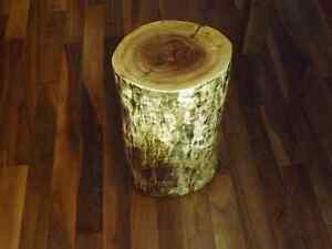 RUSTIC LIVE EDGE STOOLS, ACCENT PIECE, COFFEE TABLE  Kitchener / Waterloo Kitchener Area image 5
