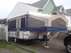 Tente roulotte Flagstaff 246D toute équipée