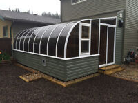 SUNROOMS, SOLARIUMS, PATIO COVERS... EYE CATCHING!