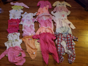 PPU Infant 3-6 month girl clothing lot