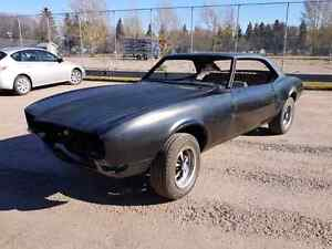 1968 Pontiac Firebird rust free body and chassis.