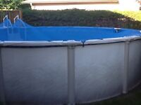 21 foot above ground resin pool