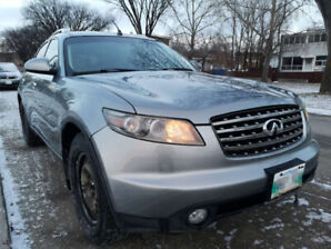 2005 Infiniti FX45 safeted