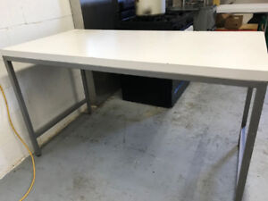 White Sturdy Tables for Sale