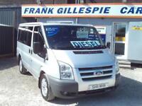 Ford Transit Tourneo, 6,7,8,9,seater minibus