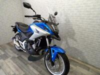 2017 (17) HONDA NC750 XA WITH ONLY 2857 MILES FROM NEW WITH HEATED GRIPS