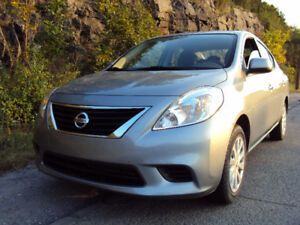2012 Nissan Versa SV LIKE NEW 26000km