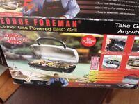 Gas George Foreman BBQ grill