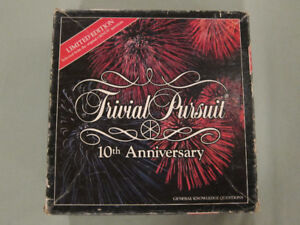 Trivial Pursuit 10th Anniversary Limited Edition