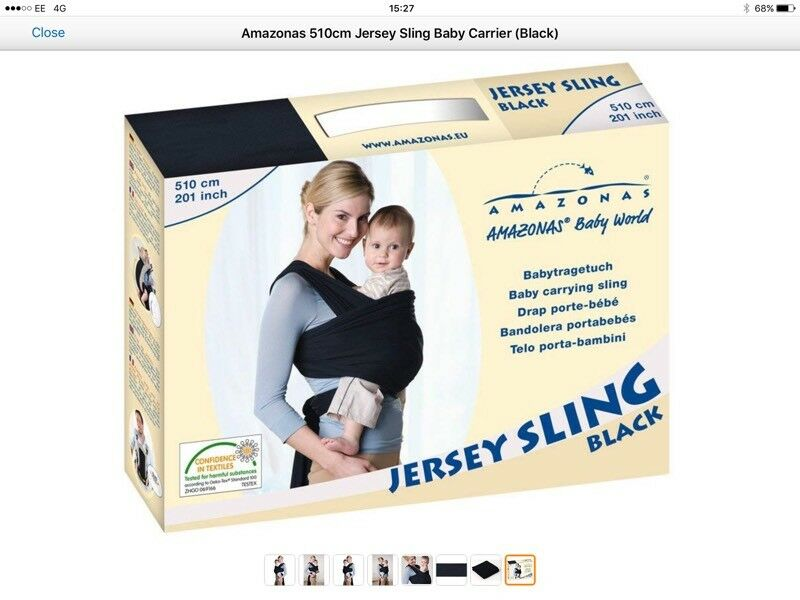 Amazonas Wrap Sling As New In St Helens Merseyside Gumtree