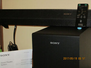 SONY Barre de son bluetooth +softfer connection tv