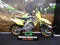 2016 Suzuki RMZ 450 EFI Motocross Bike Only just ran in GOLD WHEELS
