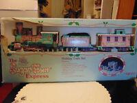Precious moments sugar town train set new in box