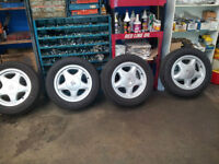 1992 Ford Mustang Wheels with tires