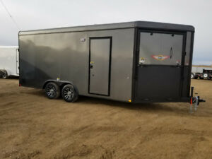 New H&H 8.5 x 23 sled / car  combo enclosed trailer