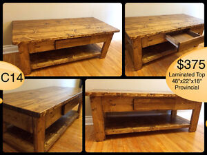 CUSTOM BUILT COFFEE TABLES, YOUR CHOICE OF STAIN Kingston Kingston Area image 6
