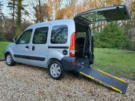 image for Renault Kangoo 1.6 Authentique 5 Seater Automatic Wheelchair Accessible Vehicle