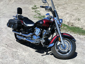 2002 YAMAHA V STAR CLASSIC FOR SALE
