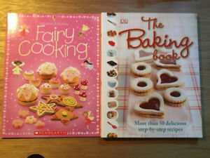 Children's Cooking Books, Almost new!