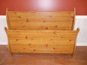For Sale:  Queen Size Sleigh Bed