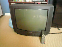 2 Télévisions 20 pouces analogiques